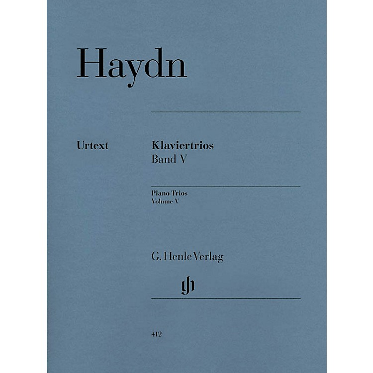 G. Henle VerlagPiano Trios - Volume V (for piano, violin, and cello) Henle Music Folios Series Softcover by Joseph Haydn