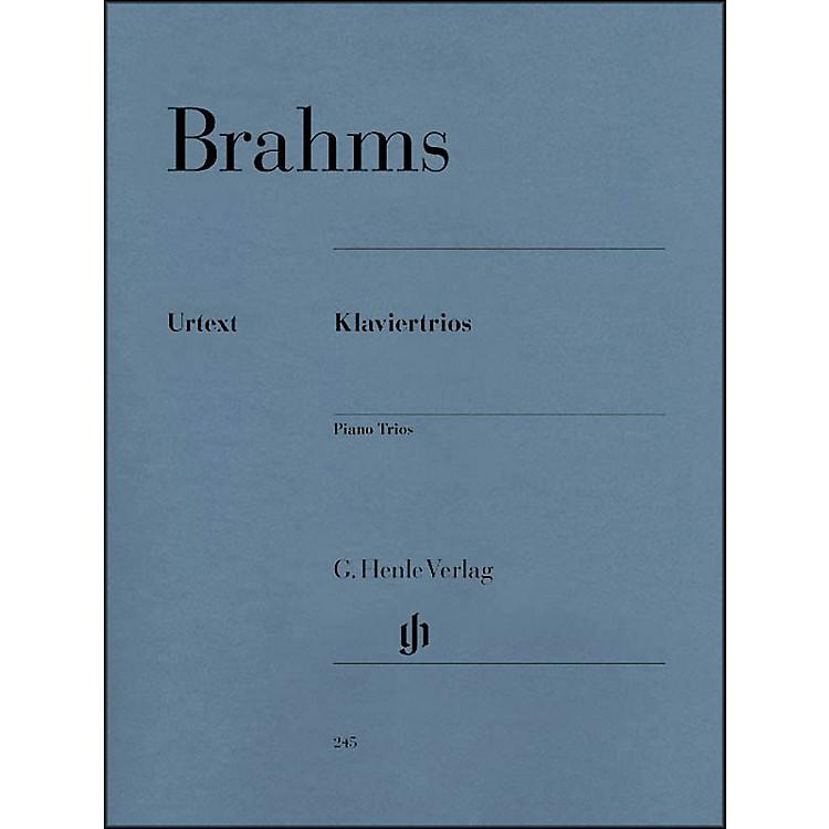 G. Henle VerlagPiano Trios By Brahms