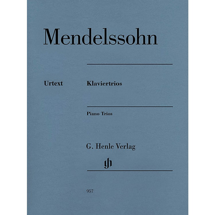 G. Henle VerlagPiano Trios Henle Music Folios Series Softcover Composed by Felix Mendelssohn