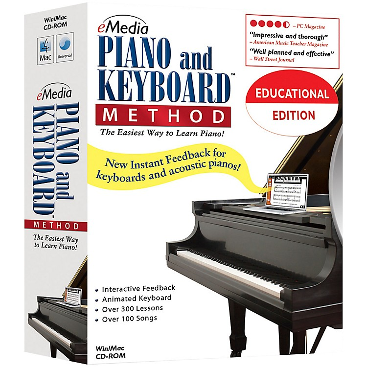 eMediaPiano and Keyboard Method 20 Station Lab Pack (20 Computers/120 Students)