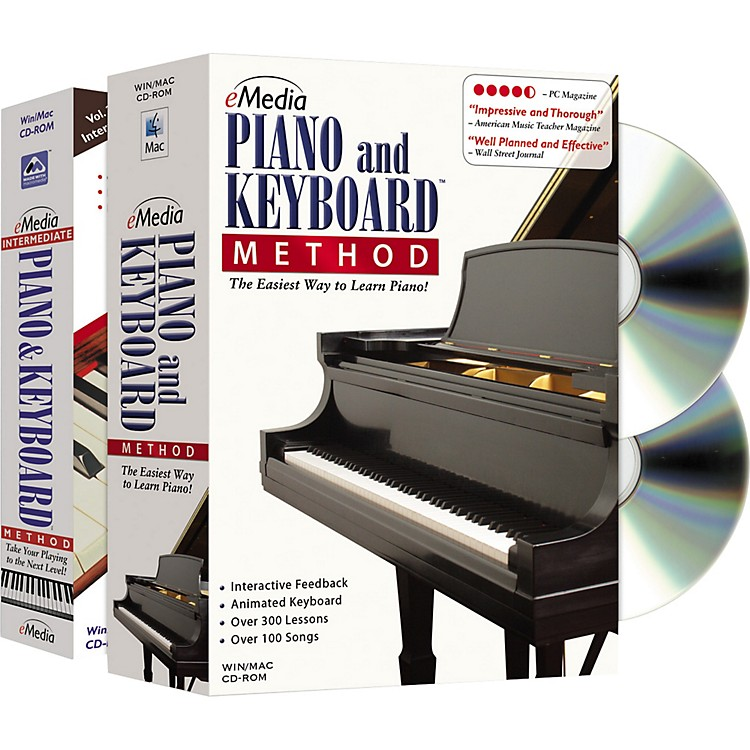 EmediaPiano and Keyboard Method Deluxe 2 CD-ROM Set