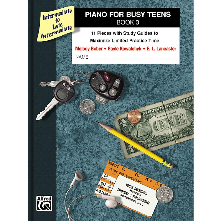 AlfredPiano for Busy Teens Book 3