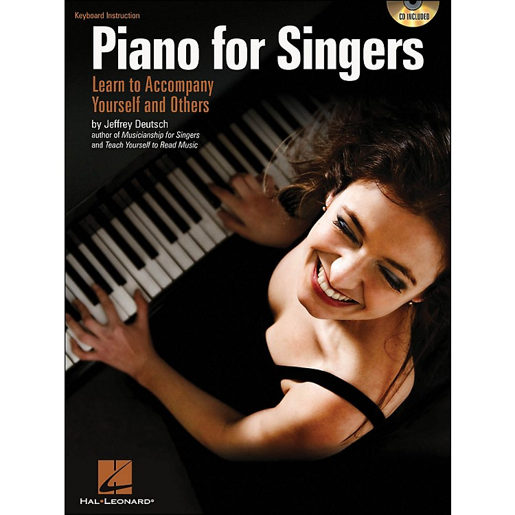 Hal LeonardPiano for Singers: Learn To Accompany Yourself And Others Book/CD