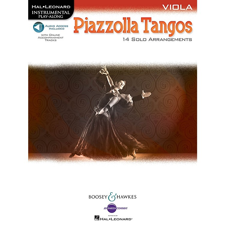 Boosey and Hawkes Piazzolla Tangos (Viola) Boosey & Hawkes Chamber Music Series Softcover Audio Online