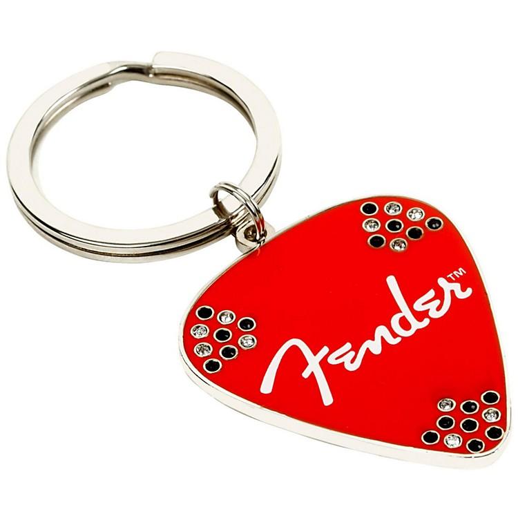 FenderPick KeychainRed