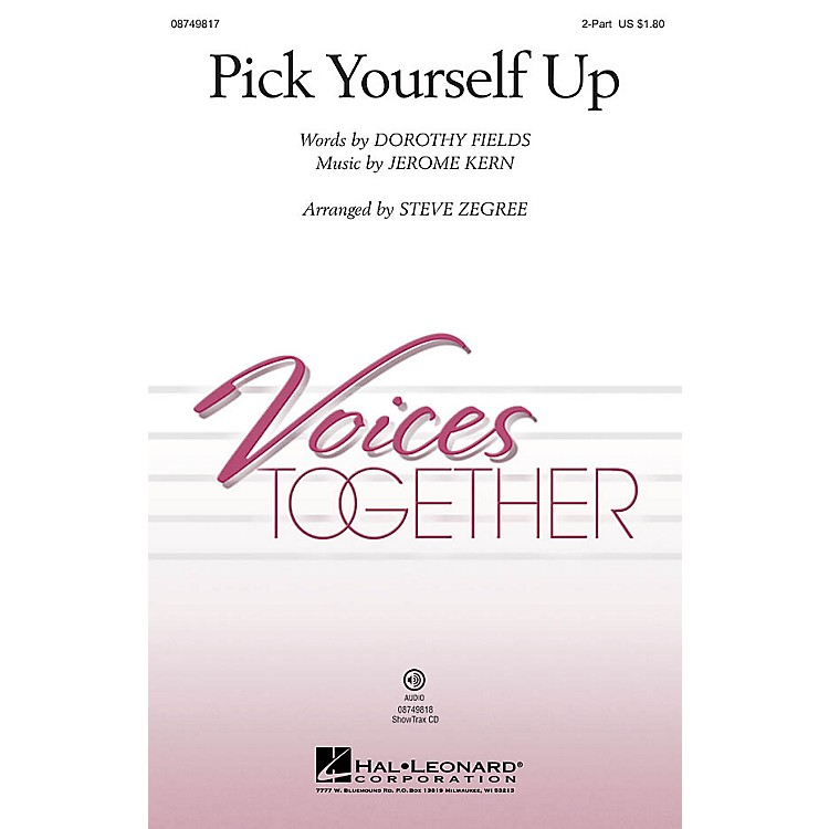 Hal LeonardPick Yourself Up ShowTrax CD Arranged by Steve Zegree