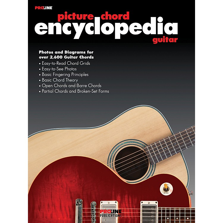 ProlinePicture Chord Encyclopedia Book