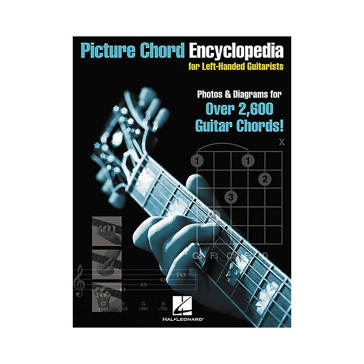 Hal LeonardPicture Chord Encyclopedia for Left-Handed Guitarists 9x12 Book
