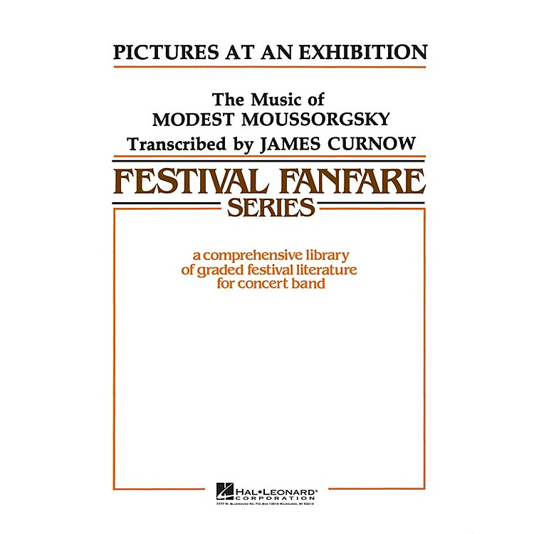 Hal LeonardPictures at an Exhibition - Young Concert Band Level 3 arranged by James Curnow