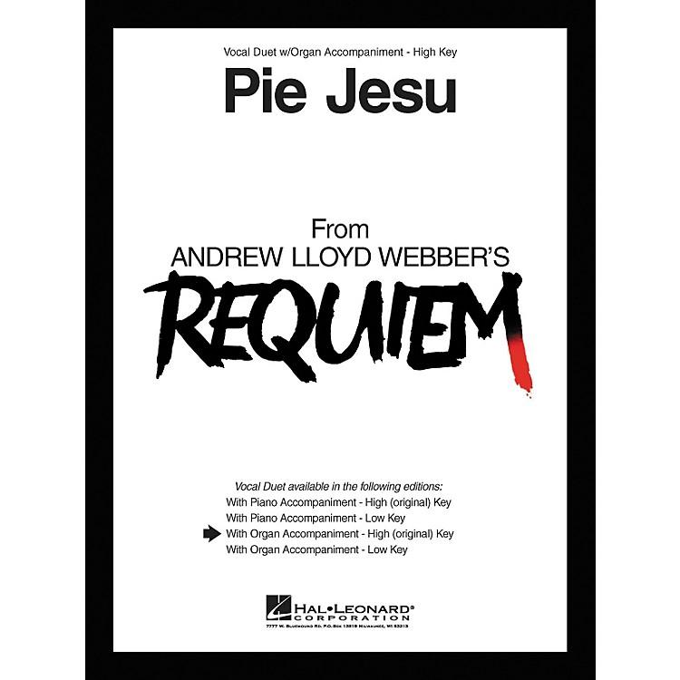 Hal LeonardPie Jesu From Requiem Vocal Duet High Voice with Organ Accompaniment