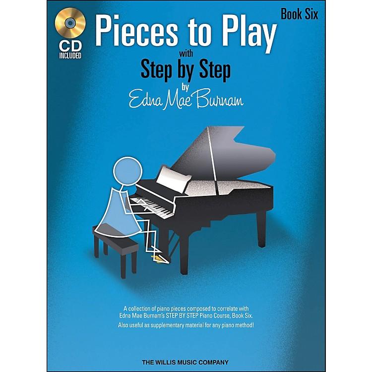 Willis MusicPieces To Play Book 6 Book/CD