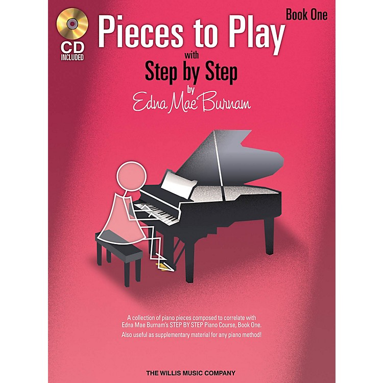 Willis MusicPieces to Play - Book 1 with CD Willis Series Softcover with CD Composed by Edna Mae Burnam