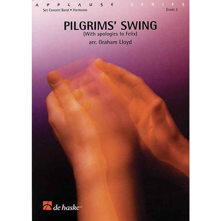 De Haske MusicPilgrims' Swing Full Score Concert Band Level 3 Arranged by Graham Lloyd