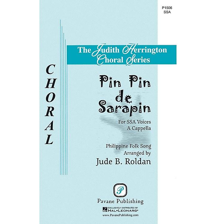 PavanePin Pin de Sarapin SSA A Cappella arranged by Jude Roldan