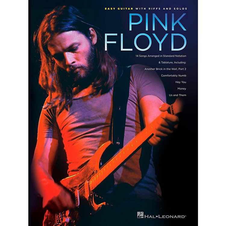 Hal LeonardPink Floyd - Easy Guitar With Riffs And Solos (With Tab)