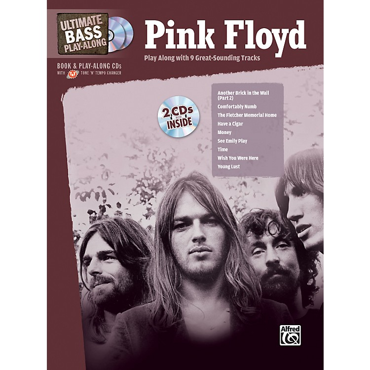 AlfredPink Floyd - Ultimate Bass Play-Along (Book/CD)