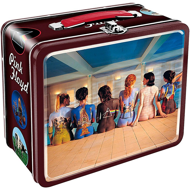 Hal Leonard Pink Floyd Back Side Art Lunch Box