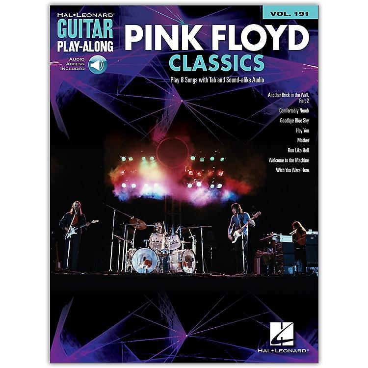 Hal LeonardPink Floyd Classics Guitar Play-Along Volume 191 Book/Audio Online