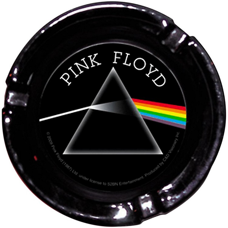 C&D Visionary Pink Floyd DSOM Glass Ashtray