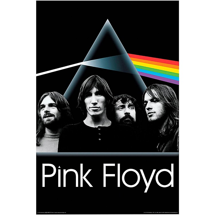 Hal Leonard Pink Floyd Dark Side of the Moon Group Wall Poster