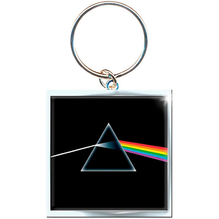 ROCK OFFPink Floyd Key Ring Dark Side Of The Moon Album Keychain