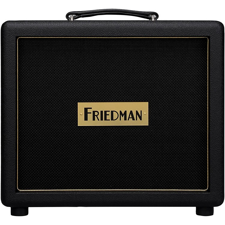 Friedman Pink Taco 1x12 Closed-Back Guitar Speaker Cabinet with Celestion Creamback Black