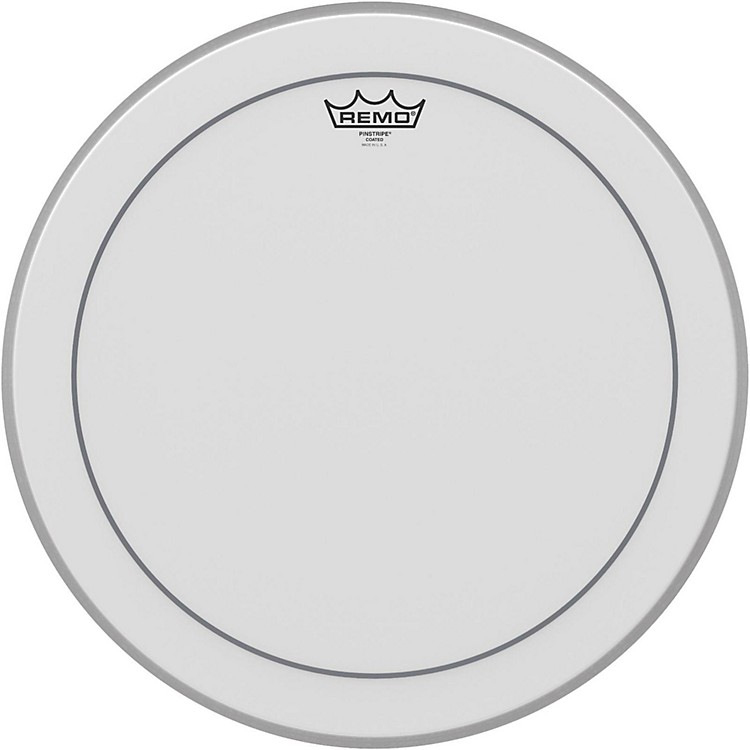 Remo Pinstripe Coated Bass Drumhead  18 in.