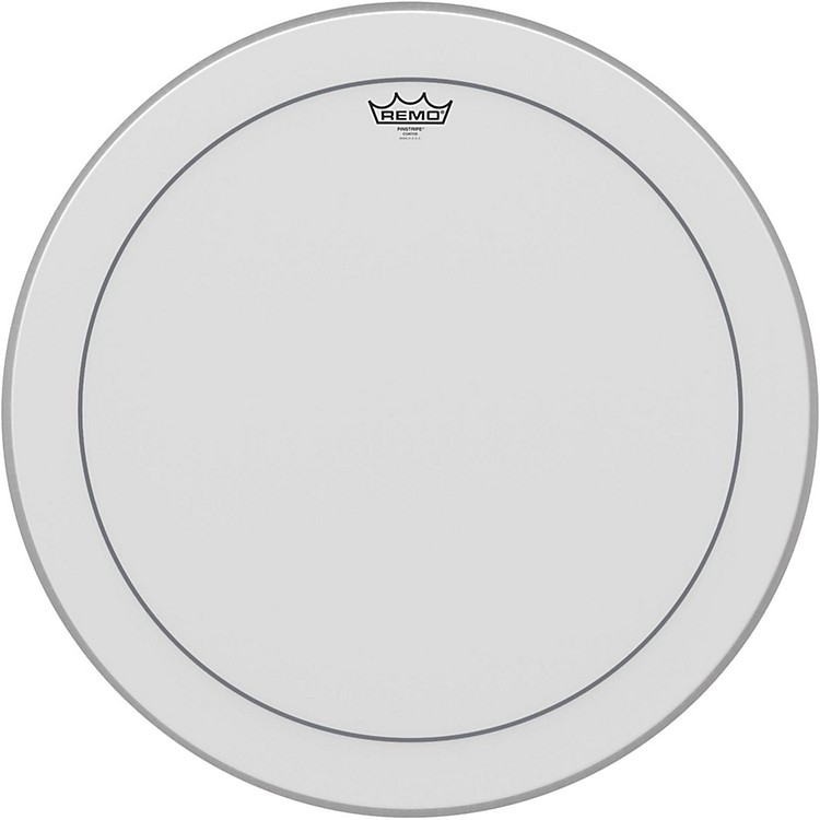 RemoPinstripe Coated Bass Drumhead24 in.