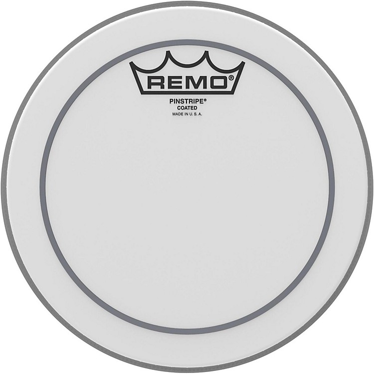 Remo Pinstripe Coated Drumhead  8 in.