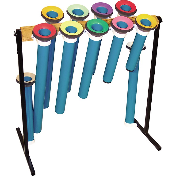 Joia Tubes Pipe Instrument Tube Sets Diatonic, 2 Octavese, C-C, with F# and Bb, Jt/Orff2Oct