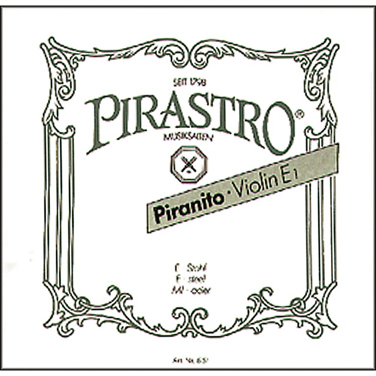 Pirastro Piranito Series Violin A String 3/4-1/2 Chrome Steel
