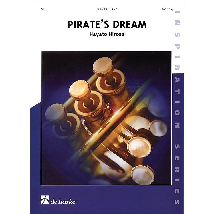 De Haske MusicPirate's Dream Full Score Concert Band Level 4 Composed by Hayato Hirose