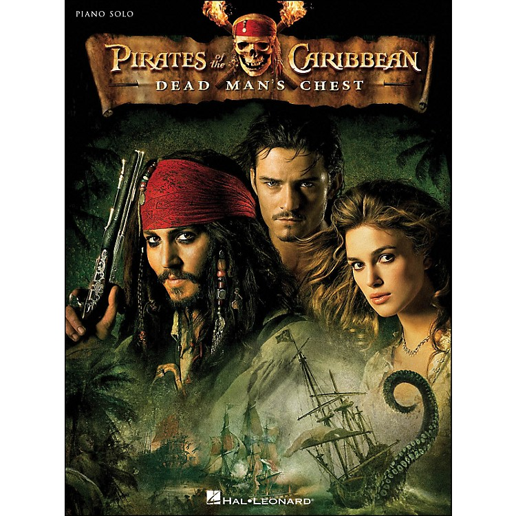 Hal Leonard Pirates Of The Caribbean - Dead Man's Chest Piano Solo