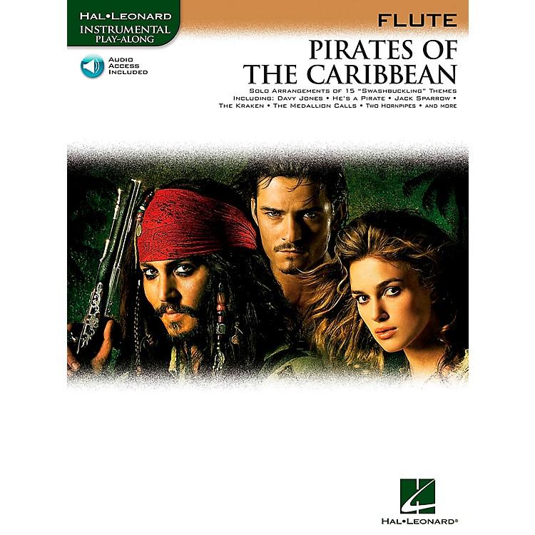 Hal LeonardPirates Of The Caribbean for Flute Instrumental Play-Along Book/CD