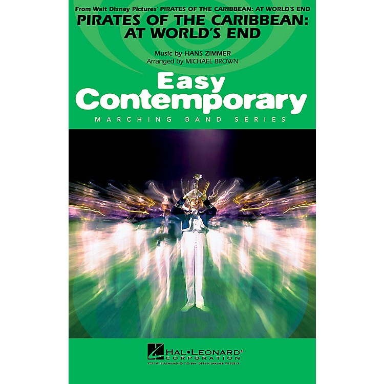 Hal LeonardPirates of the Caribbean: At World's End Marching Band Level 2-3 Arranged by Michael Brown