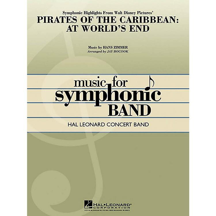 Hal LeonardPirates of the Caribbean: At World's End Symphonic Highlights Concert Band Level 4-5