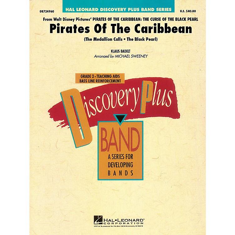 Hal LeonardPirates of the Caribbean Concert Band Level 1.5 Arranged by Michael Sweeney