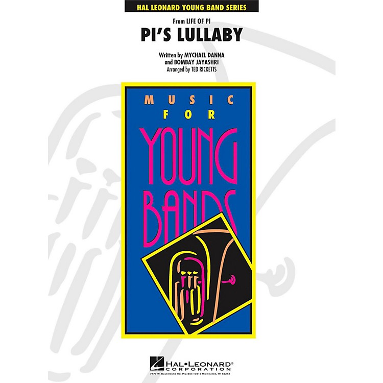 Hal LeonardPi's Lullaby (From Life of Pi) - Young Concert Band Level 3