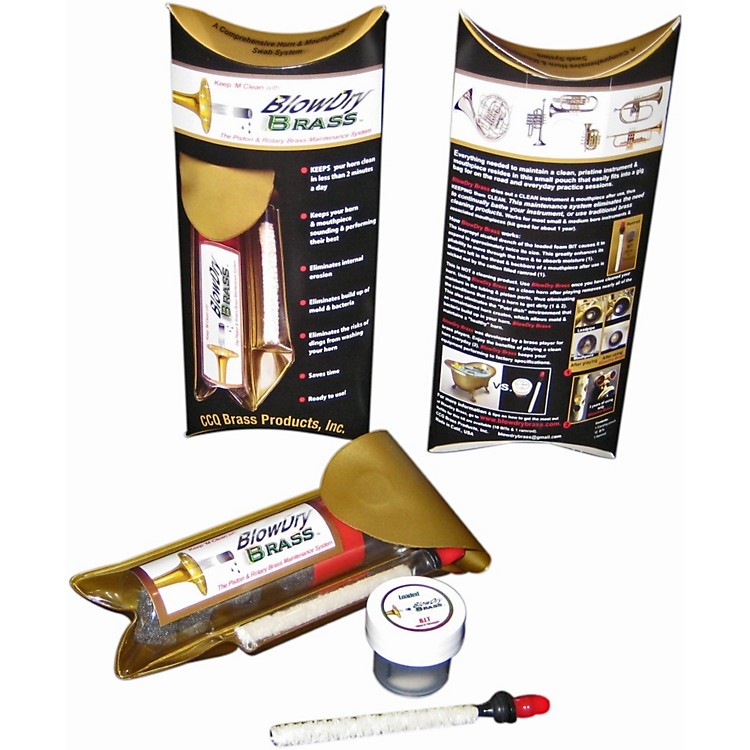 BlowDry BrassPiston & Rotary Valve Brass Maintenance System