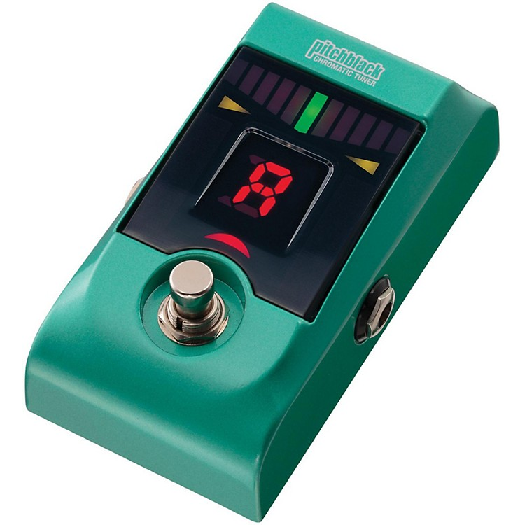 Korg Pitchblack Chromatic Pedal Tuner Metallic Green