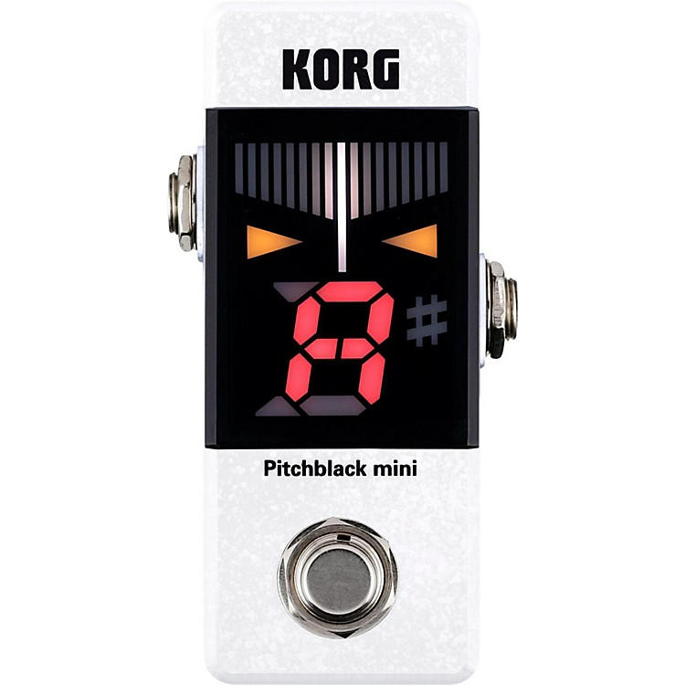 KorgPitchblack Mini Limited Edition Pedal TunerWhite