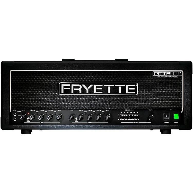 FryettePittbull Hundred/CL G100CL/EQ 100W Tube Guitar Amp HeadBlack