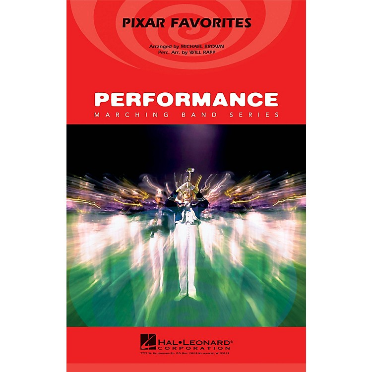 Hal LeonardPixar Favorites Marching Band Level 4 Arranged by Michael Brown