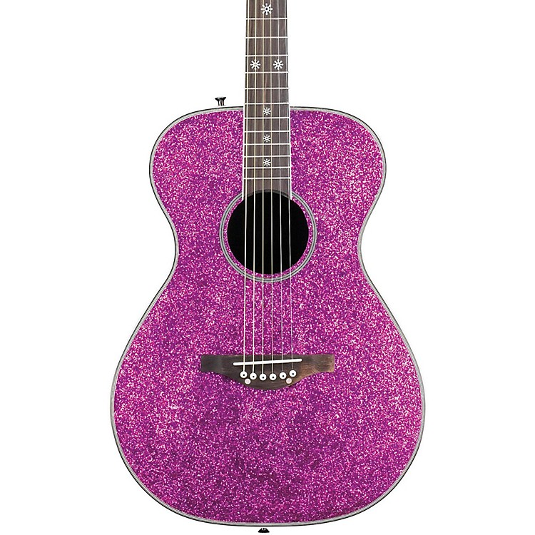 Daisy RockPixie Acoustic-Electric GuitarPlum Purple Burst190839252890