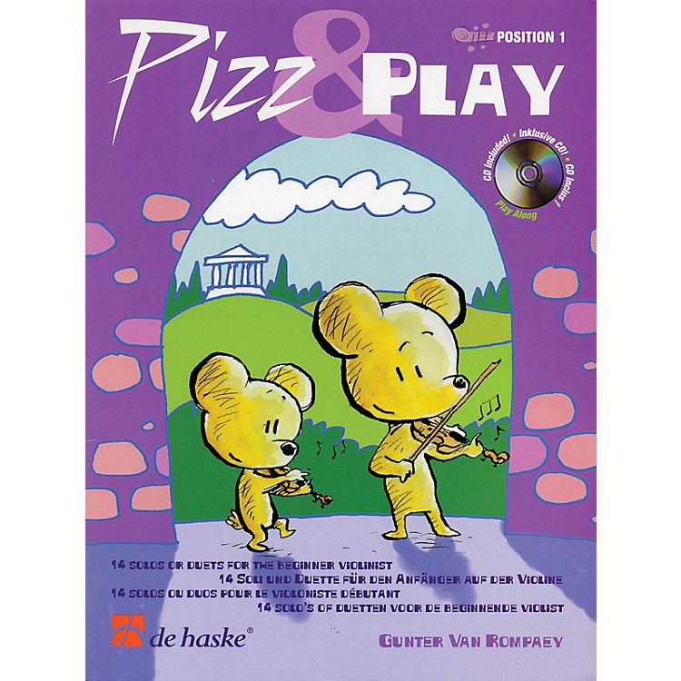 De Haske Music Pizz & Play (14 Solos or Duets for the Beginner Violinist) De Haske Play-Along Book Series