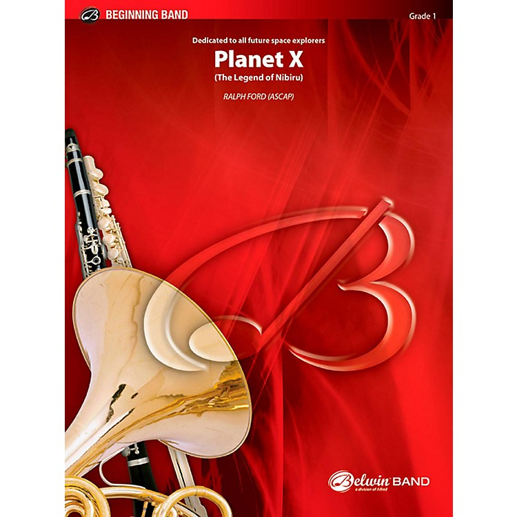 BELWIN Planet X Concert Band Grade 1 (Very Easy)