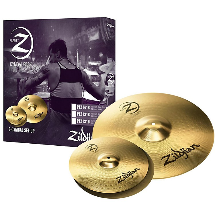 ZildjianPlanet Z 3 Pack
