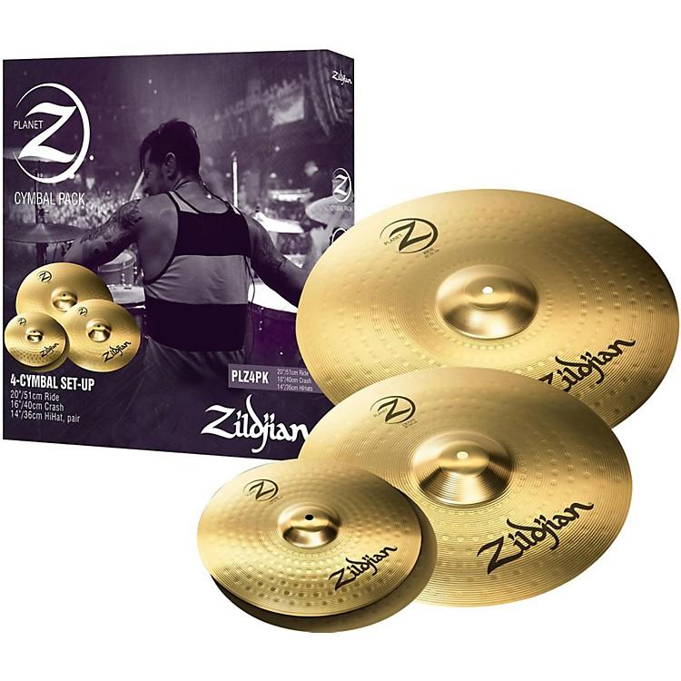 ZildjianPlanet Z 4-Pack