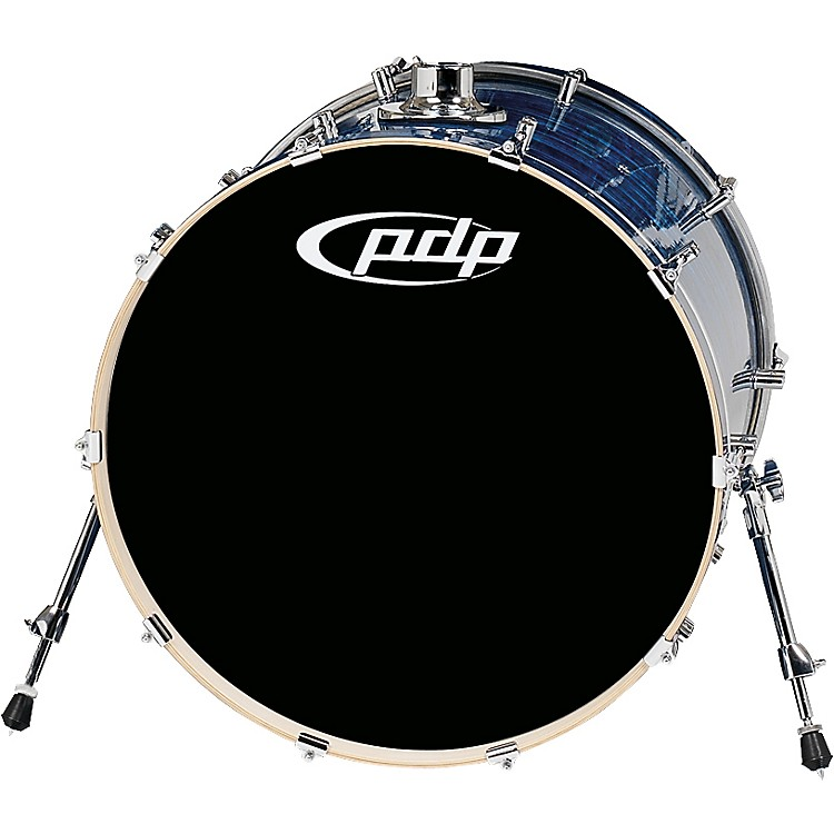 PDP by DWPlatinum Finishply Bass Drum with Tom Mount