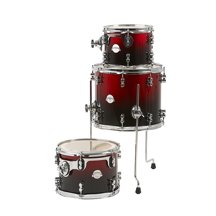 PDP by DW Platinum Lacquer 3-piece Tom Pack